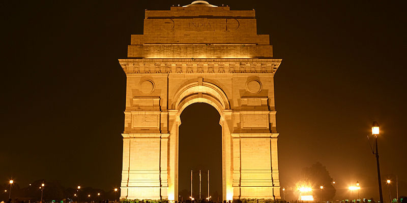 India Gate and Rajpath